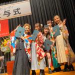 卒業式を行いました。